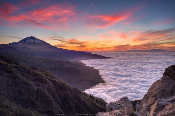 El Teide by Michael Bolognesi