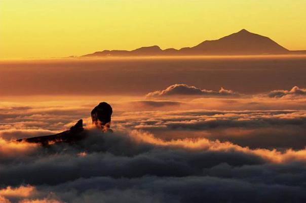 Roque Nublo versus Teide