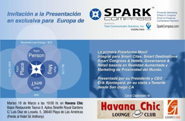 Spark Compass Invitacion CEST-CIT-Gourmetland