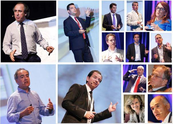 Collage ponentes Futurismo Canarias 2015